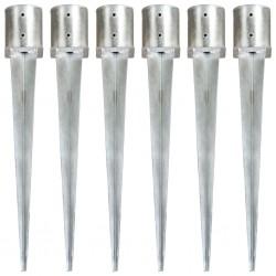 vidaXL Fundas para muebles de jardín 2 uds 8 ojales 242x162x100 cm