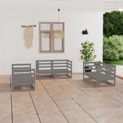 vidaXL Mesa y sillas bistró 3 pzas mosaico cerámica terracota y blanco