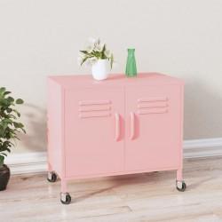 vidaXL Mesa de centro de madera maciza de pino 70x70x28 cm