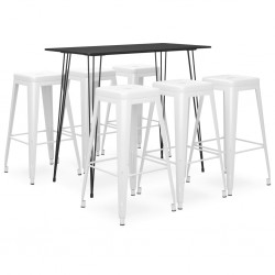 vidaXL Hojas artificiales de ficus 10 unidades dorado 65 cm