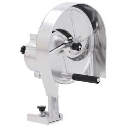 vidaXL Planta artificial Anthurium con macetero 115 cm blanco