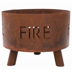 vidaXL Planta artificial drácena con macetero 125 cm amarilla