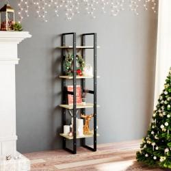 vidaXL Traje de chaqueta de hombre lino 2 piezas talla 54 gris oscuro