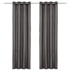 vidaXL Diván de masaje con almohada de cuero sintético blanco