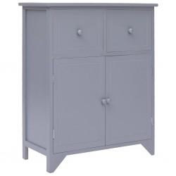 vidaXL Banco de cuero sintético 139,5 cm color crema