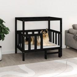 vidaXL Lámpara de techo negro y cobre 80 cm E14
