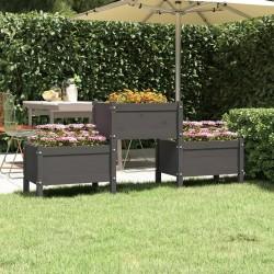 vidaXL Lámpara focos 2 uds con bombillas de filamento 2W negro E27