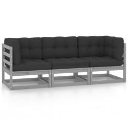 vidaXL Lámpara de focos 6 bombillas de filamento 2 W negro E27 30 cm