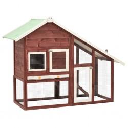 vidaXL Lámpara de techo negra 80 cm E27
