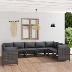 vidaXL Lámpara de techo negro 82 cm E14