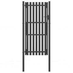 vidaXL Lámpara de techo con cristales plateado redonda 4 bombillas G9