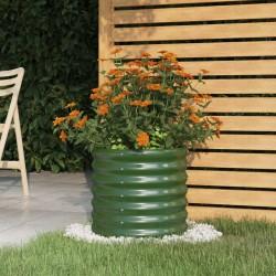 vidaXL Lámpara de araña con cuentas blanco 8 bombillas E14