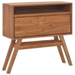 vidaXL Lámpara de araña con cuentas negra con 8 bombillas E14