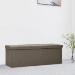 vidaXL Lámpara de araña con cuentas blanco 12 bombillas E14