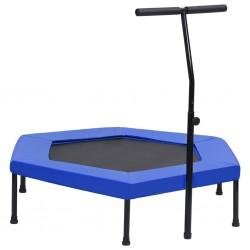 vidaXL Lámpara de araña con cuentas negro 12 bombillas E14