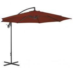 vidaXL Lámpara de araña plateada con 8 bombillas E14