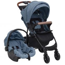 vidaXL Mesa de centro de madera de teca (60-70)x45 cm