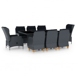 vidaXL Mesa de centro de madera de teca maciza 40x45 cm