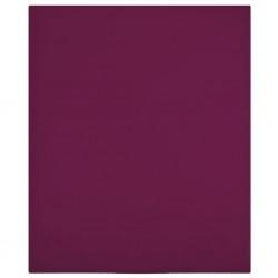 vidaXL Sillón en forma de cubo de tela marrón