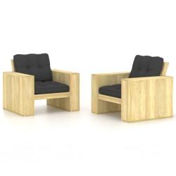 vidaXL Sillón en forma de cubo de tela amarillo
