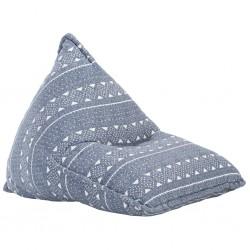 vidaXL Sábana bajera ajustable de cuna 4 pzas algodón crudo 70x140 cm
