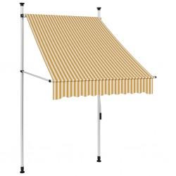 vidaXL Armarios plegables 2 unidades de tela color crema 110x45x175 cm