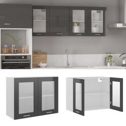 vidaXL Armario con compartimentos y varillas tela negro 150x45x175 cm