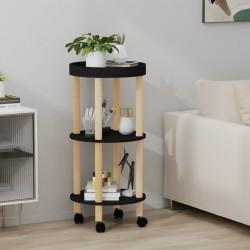 vidaXL Botelleros de pared para 12 botellas hierro negro 2 unidades