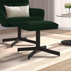 vidaXL Mesita de noche de madera maciza reciclada y acero 40x30x50 cm