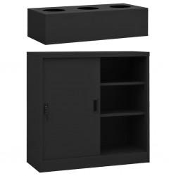 vidaXL Mesa de centro de madera maciza reciclada 110x60x40 cm