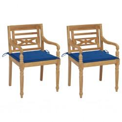 vidaXL Marcos de fotos 2 uds madera maciza reciclada y vidrio 25x30 cm