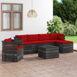 vidaXL Marcos de fotos 2 uds madera maciza reciclada y vidrio 30x40 cm