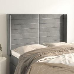 vidaXL Mesa de centro superficie ovalada de vidrio gris brillante