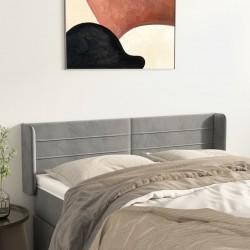 vidaXL Mesa de centro con superficie redonda de vidrio gris brillante
