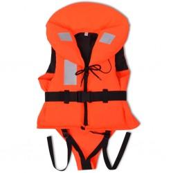 vidaXL Silla de oficina de madera curvada y cuero sintético blanco