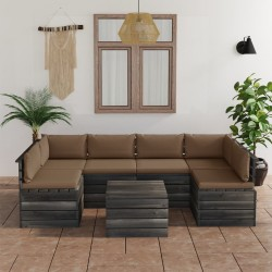 vidaXL Silla de oficina giratoria cuero sintético madera curva blanco