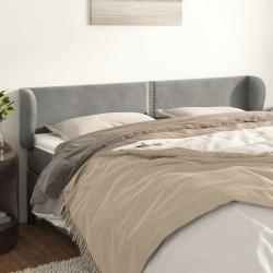 vidaXL Banco de retales Patchwork cuero auténtico cabra negro 110 cm