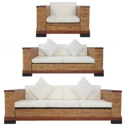 vidaXL Mueble para TV de madera maciza reciclada blanco 120x30x40 cm