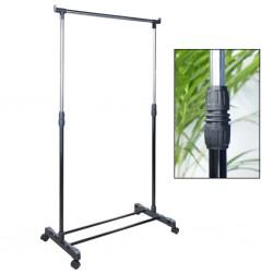vidaXL Mueble de cuarto baño madera Paulownia blanco gris 46x24x116 cm
