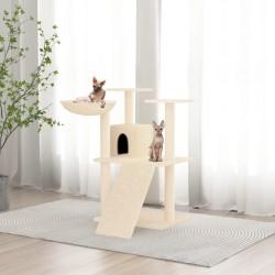 vidaXL Biombo de 3 paneles madera gris 105x165 cm