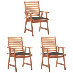 vidaXL Biombo de 3 paneles tela blanco 105x165 cm