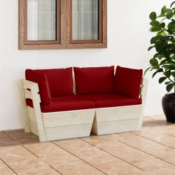 vidaXL Perchero de pared LOVE 50x23 cm