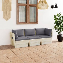 vidaXL Perchero de pared FAMILY 74x29,5 cm