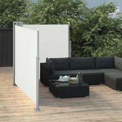 vidaXL Cestas de almacenaje de 4 piezas madera blanco 35x35x125 cm