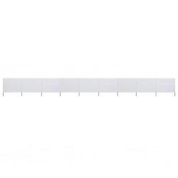 vidaXL Árbol de Navidad artificial 400 cm blanco