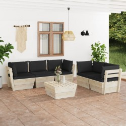 vidaXL Árbol de Navidad artificial con piñas verde 210 cm