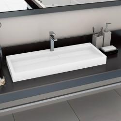 vidaXL Cubierta para radiador MDF blanco 112x19x81,5 cm