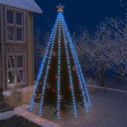 vidaXL Árbol de Navidad con nieve con base en paraguas blanco 75 cm