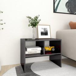 vidaXL Leñero de acero negro 44x20x100 cm