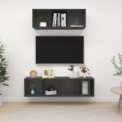 vidaXL Tablero mesa rectangular vidrio textura mármol blanco 100x62 cm